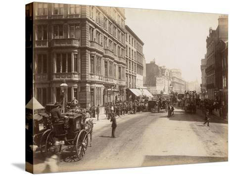 London, C.1885--Stretched Canvas Print