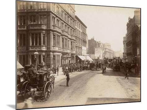 London, C.1885--Mounted Photographic Print