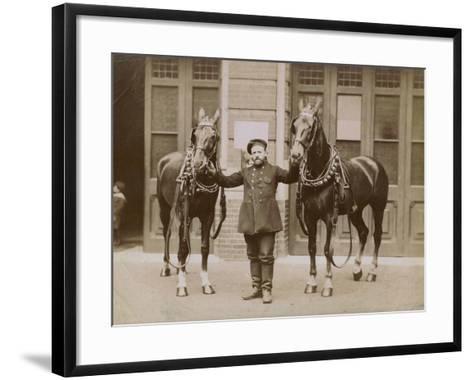 London, C.1885--Framed Art Print