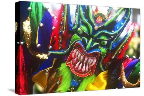 Mardi Gras, La Vega, Dominican Republic, Caribbean--Stretched Canvas Print