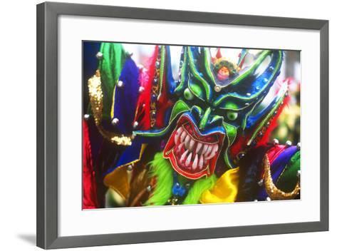 Mardi Gras, La Vega, Dominican Republic, Caribbean--Framed Art Print