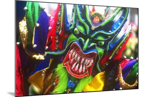 Mardi Gras, La Vega, Dominican Republic, Caribbean--Mounted Photographic Print