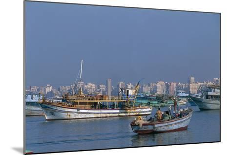 The Port of Alexandria, Egypt--Mounted Photographic Print