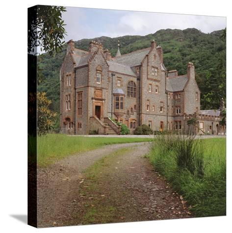 Kinlochmoidart House, Inverness-Shire--Stretched Canvas Print