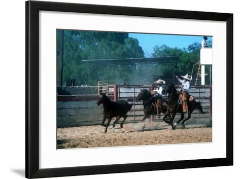 Day in Old Mexico Fiesta, San Antonio, Texas--Framed Art Print