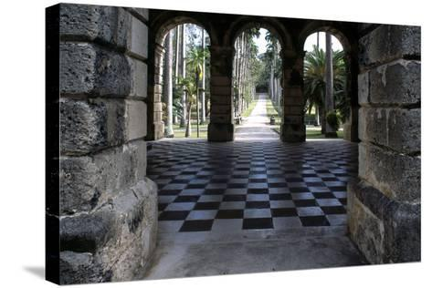 Codrington College, Barbados--Stretched Canvas Print