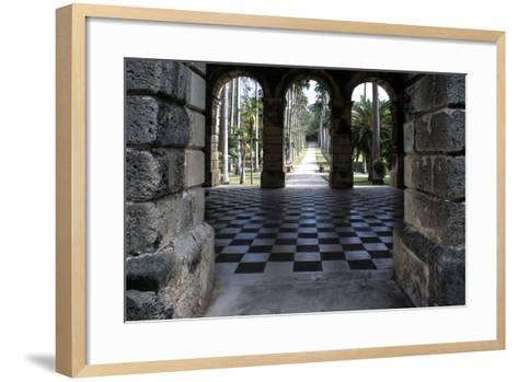 Codrington College, Barbados--Framed Art Print