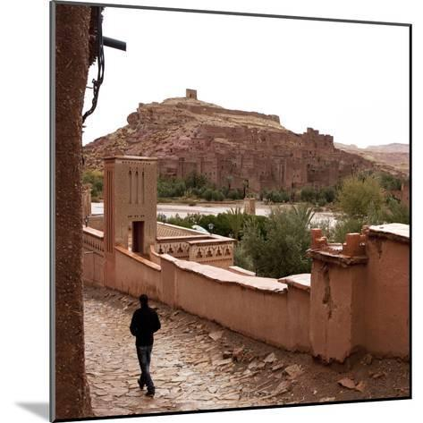 Ksar of Ait-Ben-Haddou, Morocco--Mounted Photographic Print