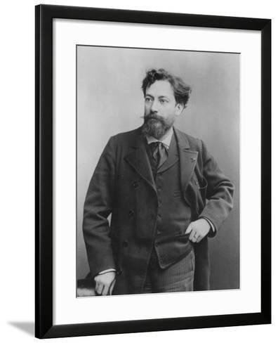 Portrait of Jean François Victor Aicard, 1890--Framed Art Print