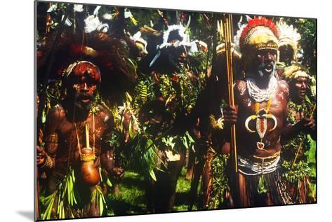 Mt. Hagen Highland Show, Goroka, Papua New Guinea--Mounted Photographic Print