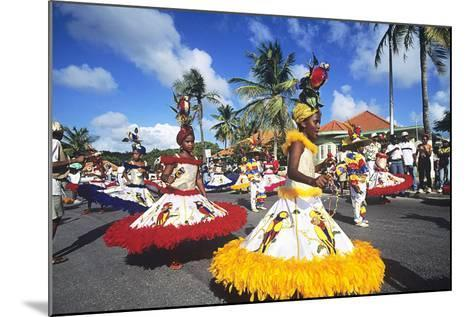 Children's Parade, Mardi Gras, Curacao, Caribbean--Mounted Photographic Print