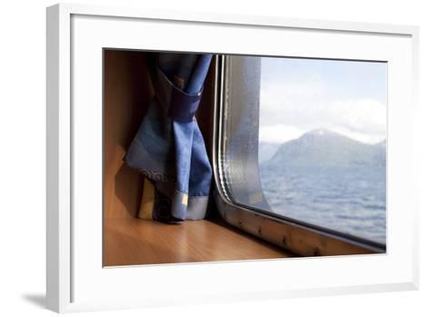 Ferry Between Hareid-Sulesund, Norway, 2010--Framed Art Print