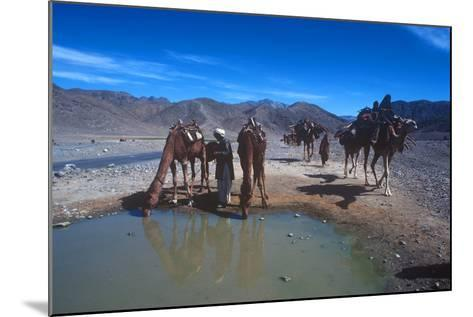 Desert Nomads, Bolan Pass, Pakistan--Mounted Photographic Print