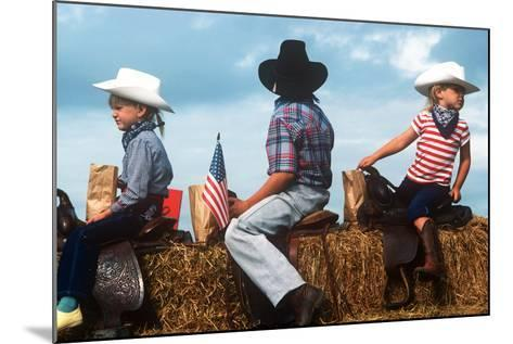 July 4th, St. Paul, Oregon--Mounted Photographic Print