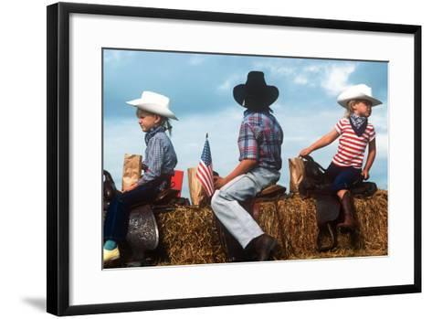 July 4th, St. Paul, Oregon--Framed Art Print