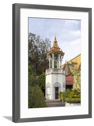 The Bell Tower of the Royal Palace, Phnom Penh, Cambodia--Framed Art Print