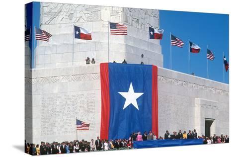 San Jacinto Celebration, Houston, Texas--Stretched Canvas Print