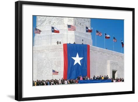 San Jacinto Celebration, Houston, Texas--Framed Art Print
