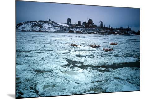 Winter Celebration, Quebec City, Quebec Province, Canada--Mounted Photographic Print