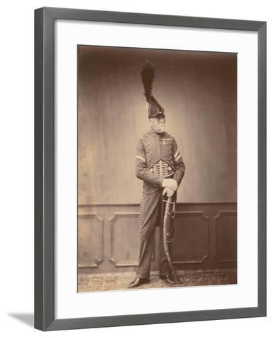 M. Dupont, Fourier of the 1st Hussars, 1860--Framed Art Print