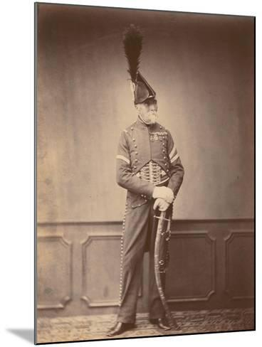 M. Dupont, Fourier of the 1st Hussars, 1860--Mounted Photographic Print