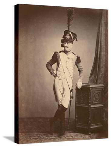 M. Vitry of the Departmental Guard, 1860--Stretched Canvas Print