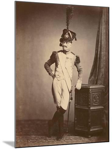 M. Vitry of the Departmental Guard, 1860--Mounted Photographic Print