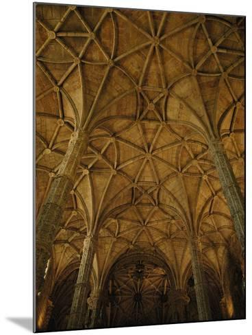 Portugal, Belem, Lisbon, Jeronimos Monastery, Interior--Mounted Photographic Print