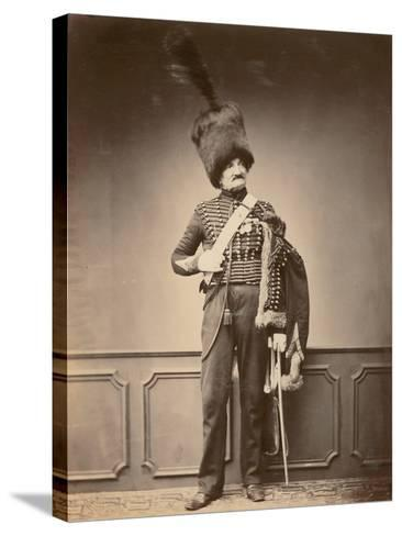 M. Maire of the 7th Hussars, 1860--Stretched Canvas Print