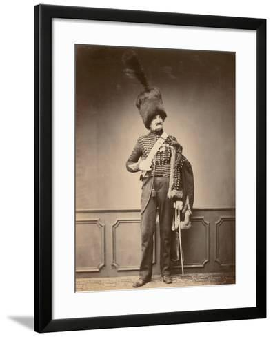 M. Maire of the 7th Hussars, 1860--Framed Art Print