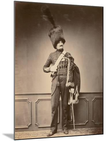 M. Maire of the 7th Hussars, 1860--Mounted Photographic Print