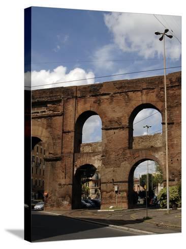 Rome, Roman Walls--Stretched Canvas Print