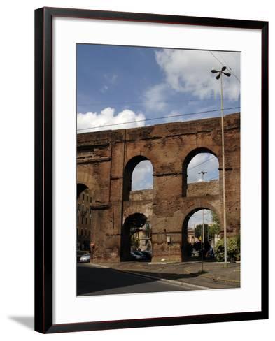 Rome, Roman Walls--Framed Art Print