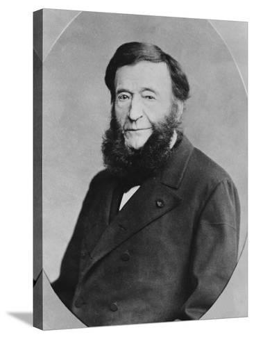 Portrait of Pierre Adolphe Piorry--Stretched Canvas Print