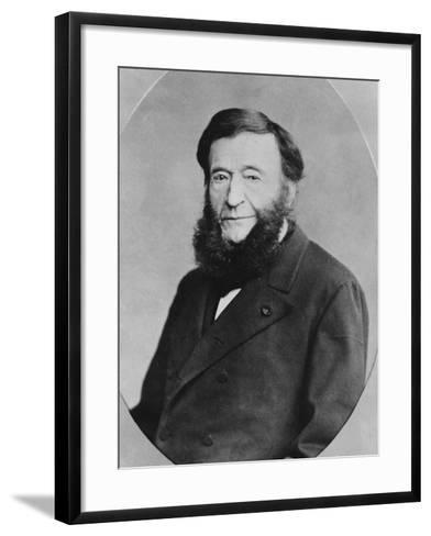 Portrait of Pierre Adolphe Piorry--Framed Art Print