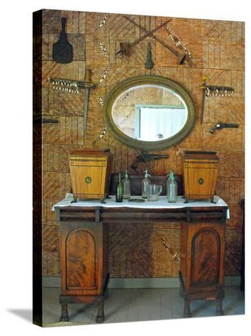 The Tapa Room, Villa Vailima, Apia, Samoa--Stretched Canvas Print