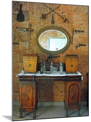 The Tapa Room, Villa Vailima, Apia, Samoa--Mounted Photographic Print