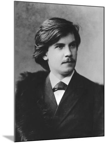 Portrait of Eugen D'Albert--Mounted Photographic Print
