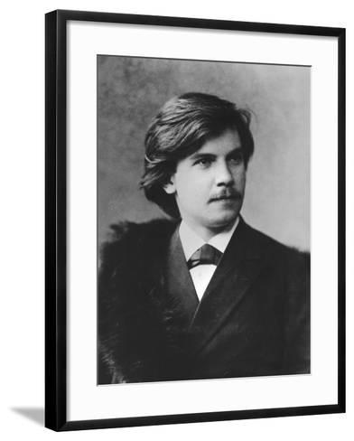 Portrait of Eugen D'Albert--Framed Art Print