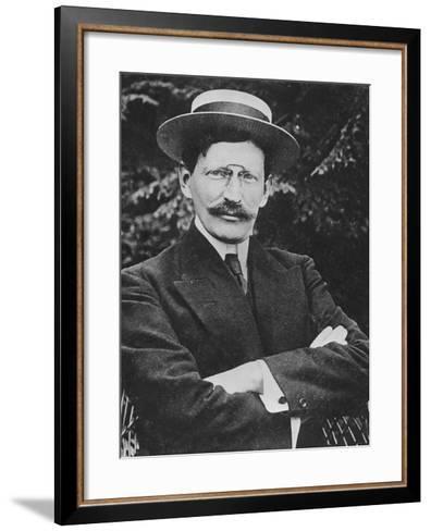 Portrait of Paul Perdrizet--Framed Art Print
