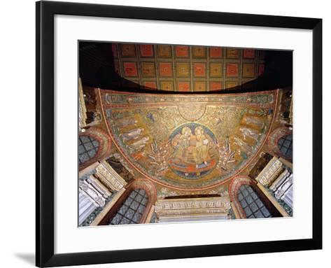 Christ Enthroned--Framed Art Print