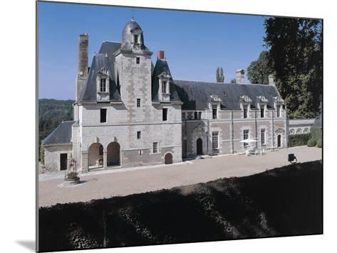 Facade of a Castle, Reugny. La Valliere Castle, Centre, France--Mounted Photographic Print