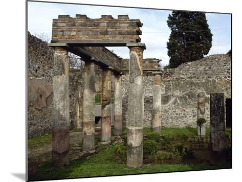 Italy, Pompeii, Villa of Diomedes, Atrium-Peristyle--Mounted Photographic Print
