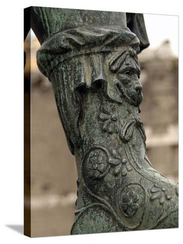 Nerva (30-98), Roman Emperor (96-98), Bronze Statue--Stretched Canvas Print
