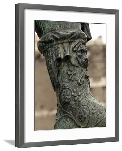 Nerva (30-98), Roman Emperor (96-98), Bronze Statue--Framed Art Print