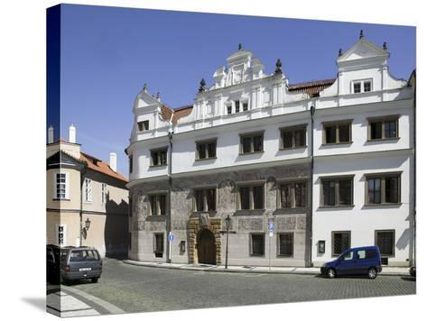 Martinic Palace at Hrad?any, Prague, Czech Republic--Stretched Canvas Print
