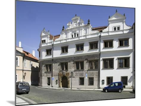 Martinic Palace at Hrad?any, Prague, Czech Republic--Mounted Photographic Print