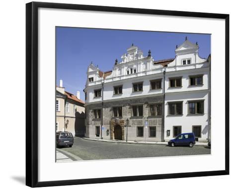 Martinic Palace at Hrad?any, Prague, Czech Republic--Framed Art Print