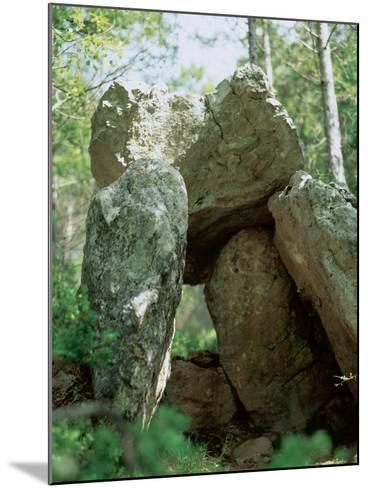 Spain, Dolmen of the Oliva, Neolithic, 2000-1500 BC--Mounted Photographic Print