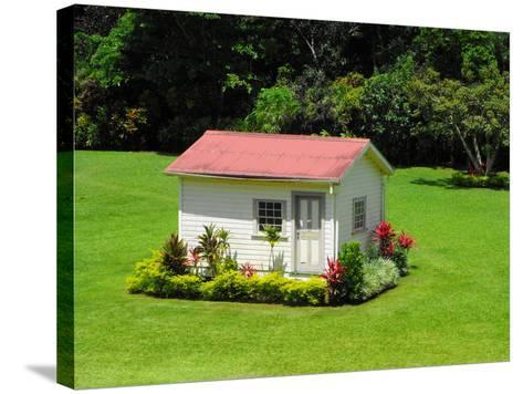 Chalet in the Grounds of Villa Vailima, Apia, Samoa--Stretched Canvas Print